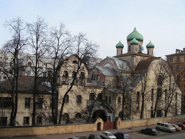 Храм во имя иконы Знамения Пресвятыя Богородицы. Санкт-Петербург, фото2005г