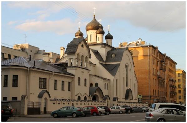 Храм во имя иконы Знамения Пресвятыя Богородицы. Санкт-Петербург