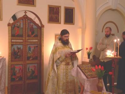 Настоятель храма - иерей Димитрий Мартышин