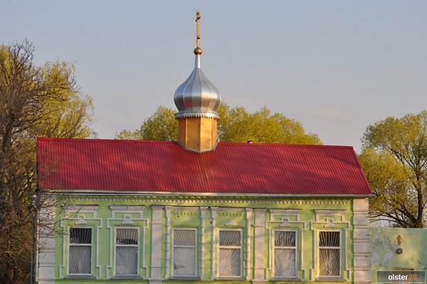 Старообрядческий храм во имя Рождества Пресвятыя Богородицы. Сосновая Маза