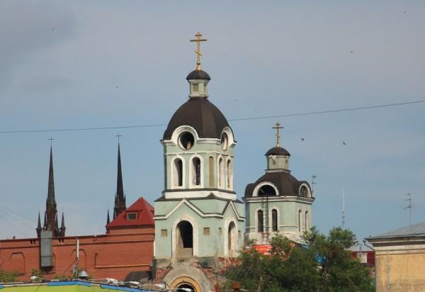 Старообрядческий храм во имя Казанской иконы Пресвятыя Богородицы. Самара