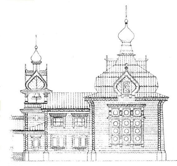 Старообрядческий храм Успения Пресвятыя Богородицы. Самара