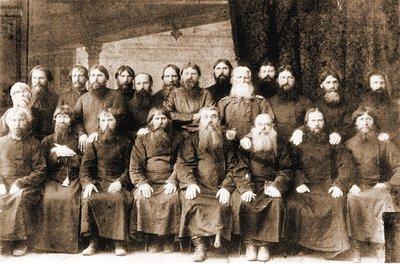 Участники самарского собора поморского согласия. Фотография. 1887 г.